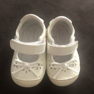 Baby girl stride rite walker shoes